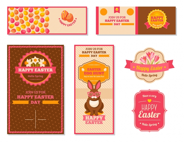 Vintage Happy Easter Greeting Cards