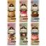 Vintage Sweets Labels Set 1