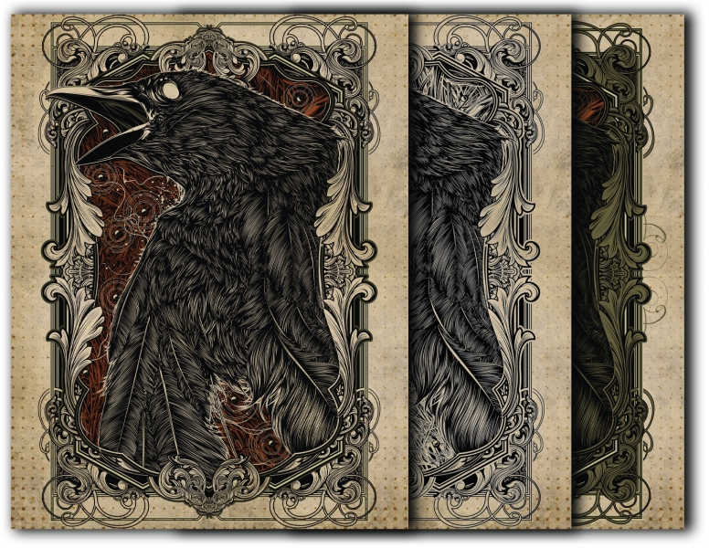 Book of Shadows Front cover- Crow