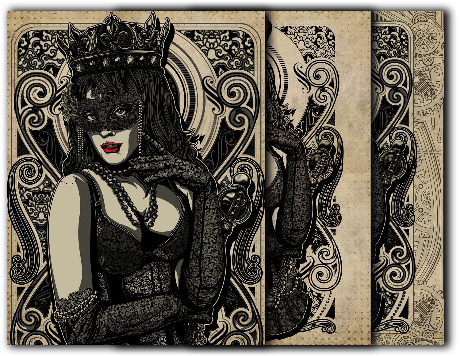 Book of Shadows Front cover- Queen