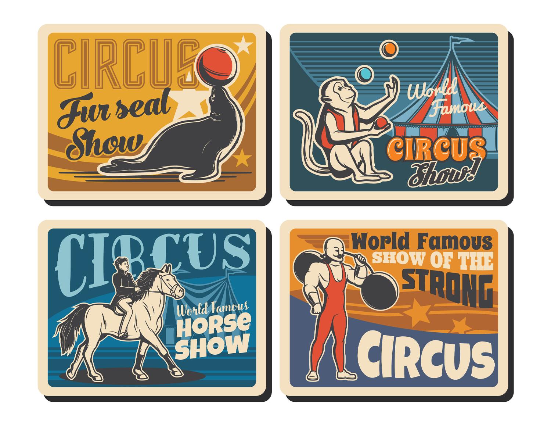 Printable Scrapbooking Vintage Circus Embellishments #4